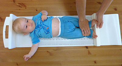 çocuklarda boy ölçümü